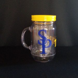 "Insulated ""SP"" Mason Jar Style Cups"