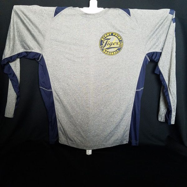 Long Sleeve Dry Fit Baseball Shirt